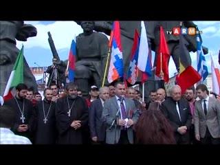 Митинг на площади Краснопресненской заставы