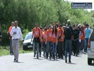 Марш молодежи в Шуши