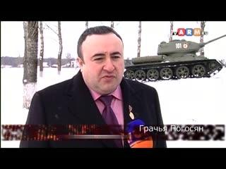 Установление Хачкара в Санкт-Петербурге